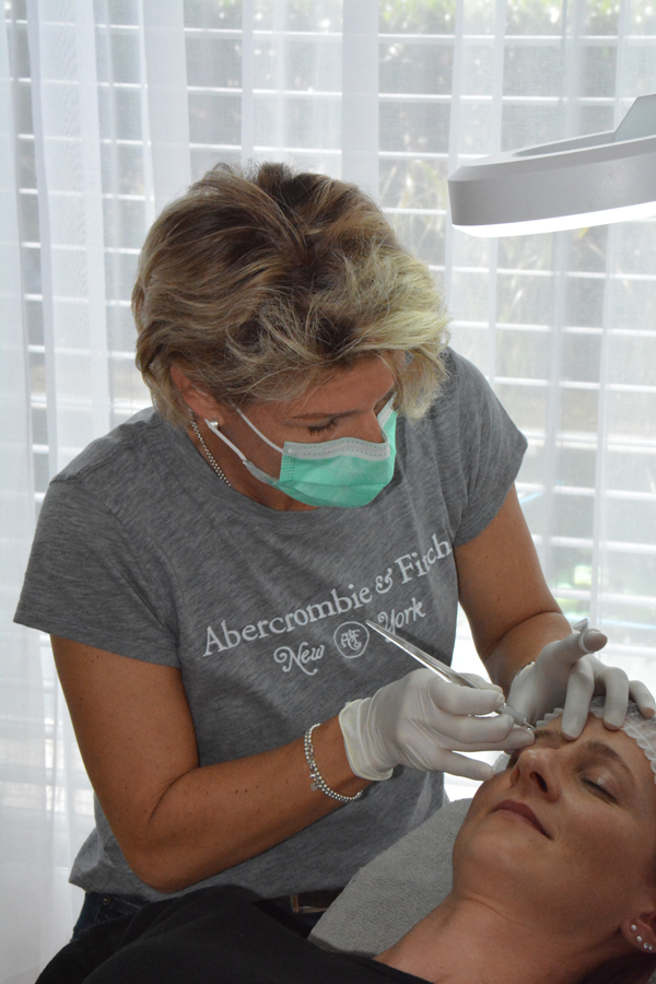 Microblading Behandlung 2